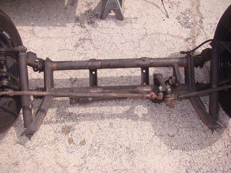 1966 VW Beetle Convertible - Front Beam Repair