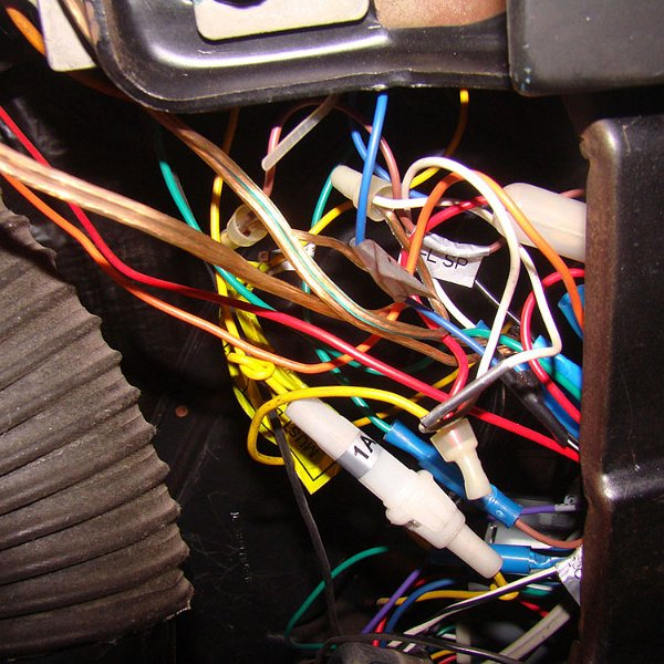 1967 firebird - disassembly for wire harness (15)
